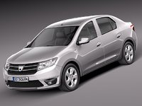 3ds 2013 sedan dacia logan