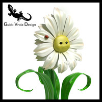 3dsmax cartoon daisy