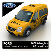 3d max 2011 transit connect taxi
