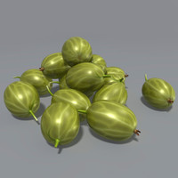 3ds max gooseberry ribes