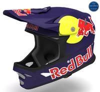 3d redbull helmet