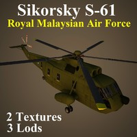 3d sikorsky rmf helicopter model