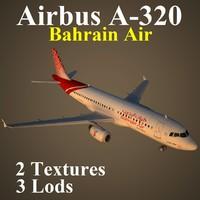 airbus bab 3d max