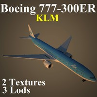 boeing klm 3d ma