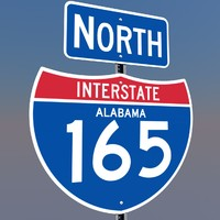 cinema4d interstate 165 signs alabama