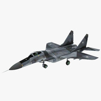 3d mig-33 super fulcrum model