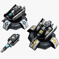 Turret pack
