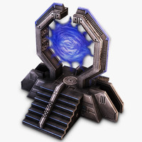 warp gate sci-fi max