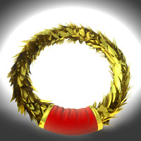 laurel gold wreath
