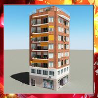 3d model building 49