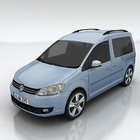 3d volkswagen caddy