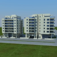 buildings 1 3d max