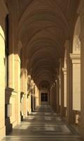 Old Style Corridor Interior