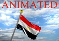 egypt flag 3d model