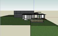3d 3ds suburban house