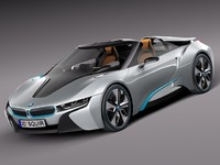 3d model 2012 bmw spyder concept