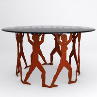 stylish coffee table 3 3ds