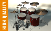 cinema4d drum set