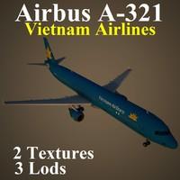 3d airbus hvn model
