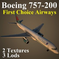 boeing 757-200 fca 3d max
