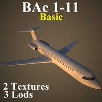 british aerospace basic 3d model