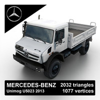 Mercedes-Benz Unimog U5023 2013