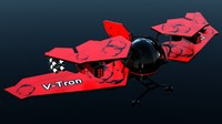 3d aircraft v-tron 3000 model