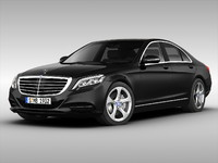 3ds max mercedes car