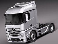 Mercedes Actros Truck 2014