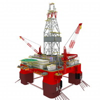 Offshore Oil Rig Platform Valor
