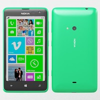 3d model nokia lumia 625 green