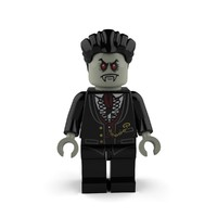 lego vampire 3d model