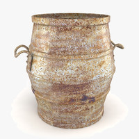3ds max antique planter pot