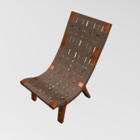 easy chair 3d 3ds