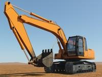 3dsmax excavator shovel hydraulics