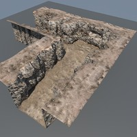 free mountain maps terrain 3d model