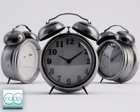 alarm clock 3d 3ds