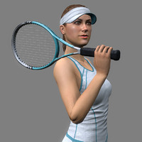 Tennis Player Girl