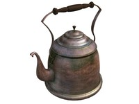3d antique teapot