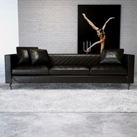3d model moooi boutique leather sofa