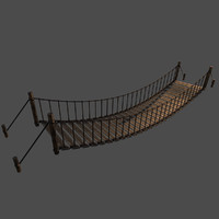 3d realistic bridge model