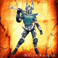 figure sword 3d c4d