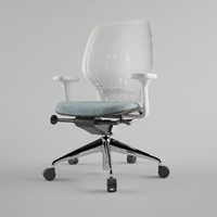 modern office chair 3d 3ds