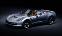 Chevrolet Corvette Stingray C7 Convertible 2014