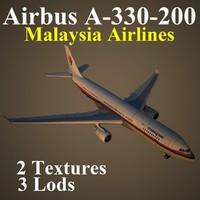 airbus mas 3d max