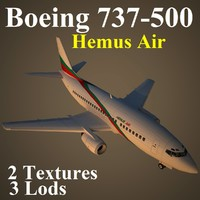 max boeing 737-500 hms