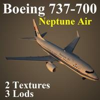 3d model of boeing 737-700 npt