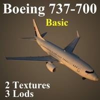 boeing 737-700 basic max