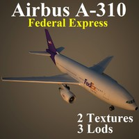 3ds max airbus fdx