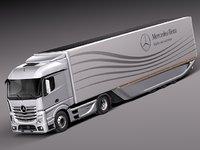 maya 2014 mercedes truck